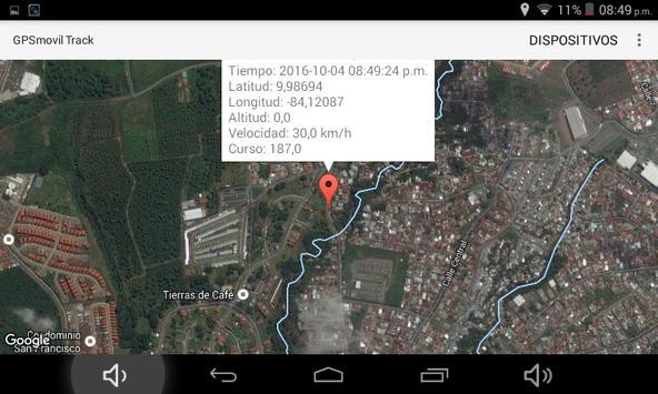 GPSmovil Track screenshot 11