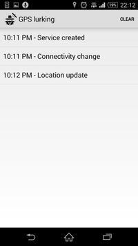 GPS lurking monitor movements apk screenshot