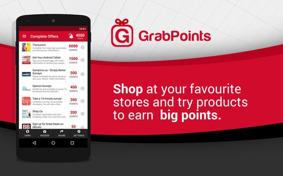 GrabPoints screenshot 1