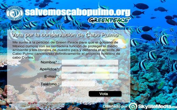 Salvemos Cabo Pulmo apk screenshot