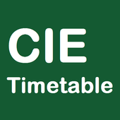 CIE Timetable icon