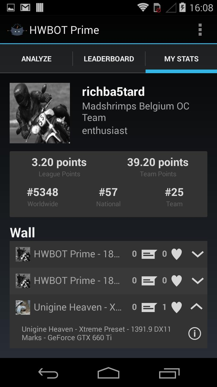 HWBOT Prime - CPU Benchmark for Android - APK Download