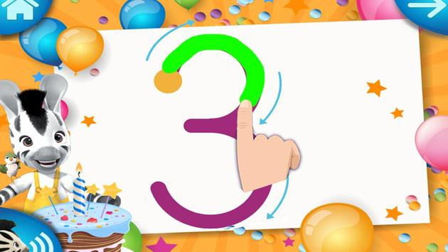 Learn to count with Zou apk screenshot