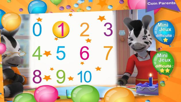 Learn to count with Zou poster