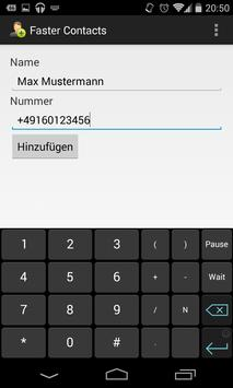 Faster Contacts apk screenshot