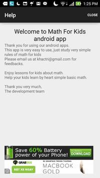 Hana Math For Kids screenshot 7