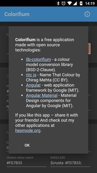 Colorifium apk screenshot