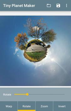 Tiny Planet Maker screenshot 1