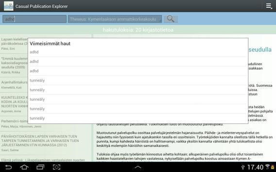 Casual Publication Explorer apk screenshot