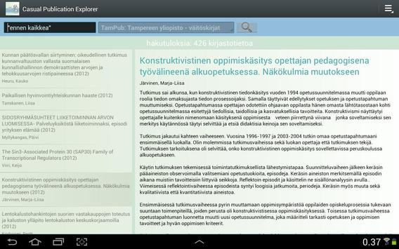 Casual Publication Explorer apk screenshot