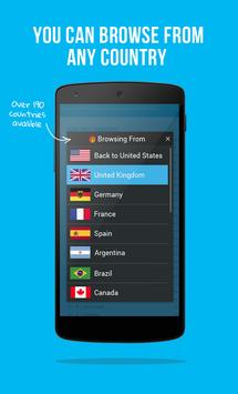Hola Free VPN Proxy apk screenshot