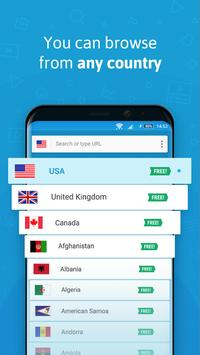 Hola Free VPN apk screenshot
