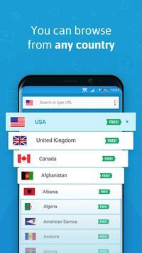 Hola Free VPN captura de pantalla 2
