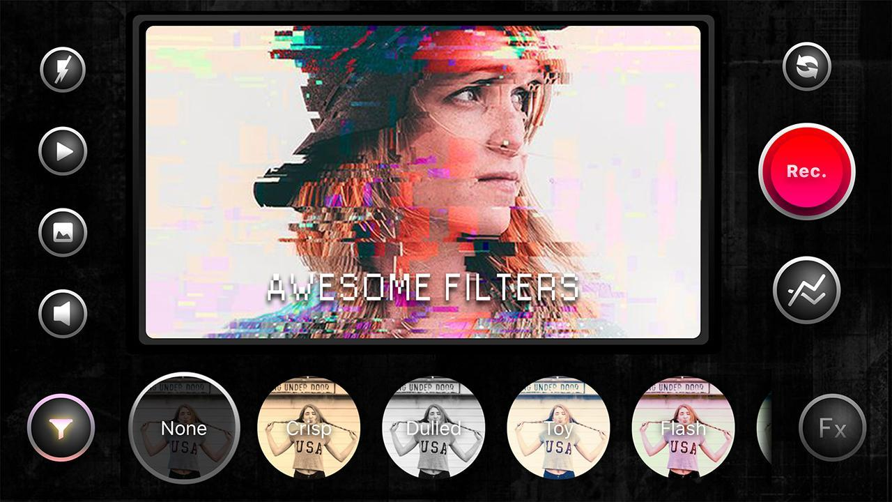 Vintage Cam 8mm Vhs Camcorder Glitch Video Effects For Android Apk Download
