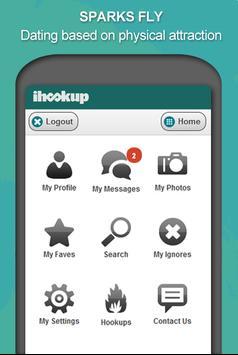 ... iHookup Casual Adult Dating apk screenshot ...