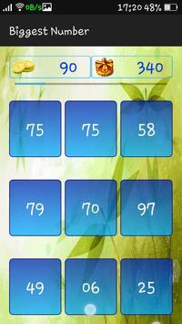 Biggest Number screenshot 5