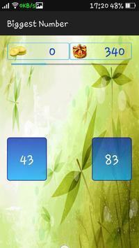 Biggest Number screenshot 2
