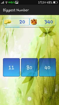 Biggest Number screenshot 3
