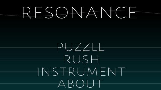 Resonance poster