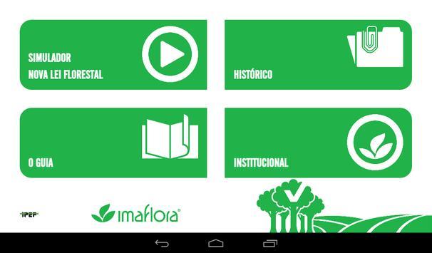 Simulador do Código Florestal imagem de tela 7
