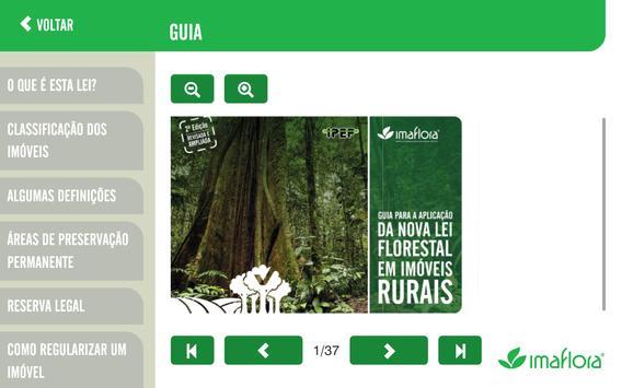Simulador do Código Florestal imagem de tela 1