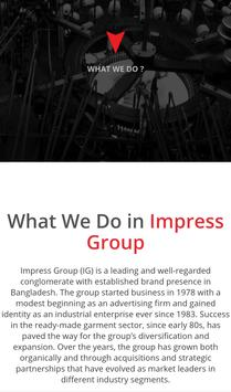 Impress Group screenshot 2
