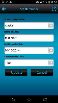 IncAlert - Corp Renewal Alert screenshot 5