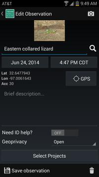 Texas Nature Trackers apk screenshot