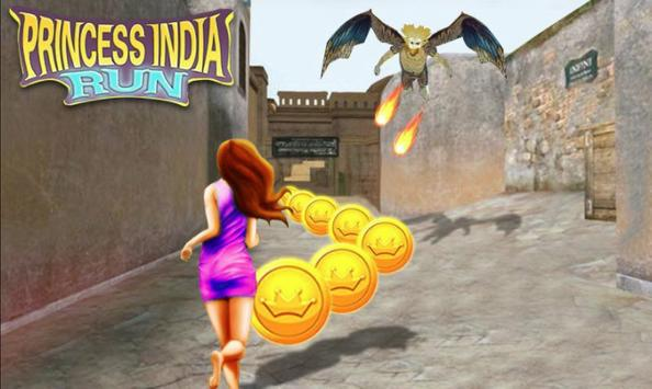 Fast Subway Surf: Rush Hours 2018 india Princess screenshot 1