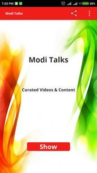 ModiTalks - Videos & Articles poster