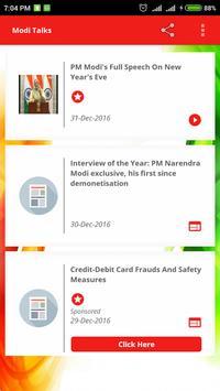ModiTalks - Videos & Articles screenshot 1
