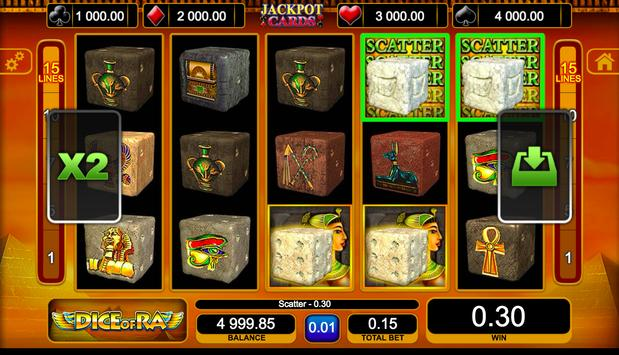 Dice of Ra Slot screenshot 4