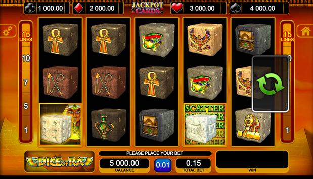 Dice of Ra Slot screenshot 3
