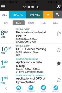 INFORMS Meetings screenshot 1