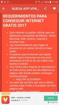 internet gratis 2017 screenshot 3