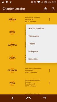 Iota Phi Theta Chapter Locator screenshot 1