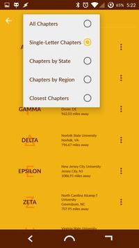 Iota Phi Theta Chapter Locator screenshot 2