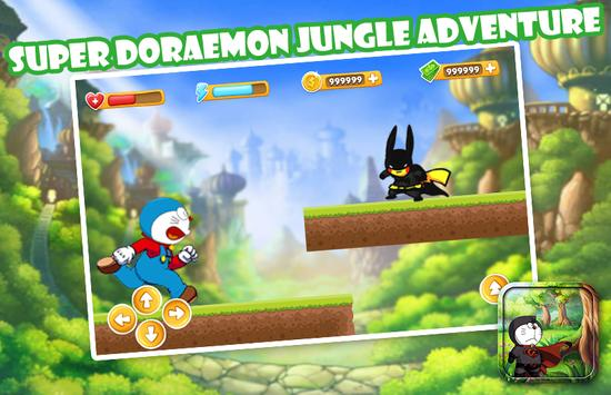 Super Doraemon Jungl Adventure apk screenshot