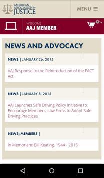 AAJ Mobile App apk screenshot