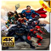 Justice Super League Wallpaper 4K icon