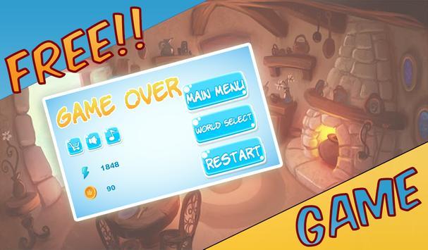 Jerry Run Cheese Adventure game apk screenshot