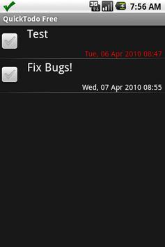 QuickTodo Lite apk screenshot