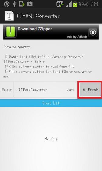 TTFApkConverter for Android - APK Download