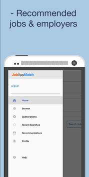 JobAppMatch (Unreleased) screenshot 1