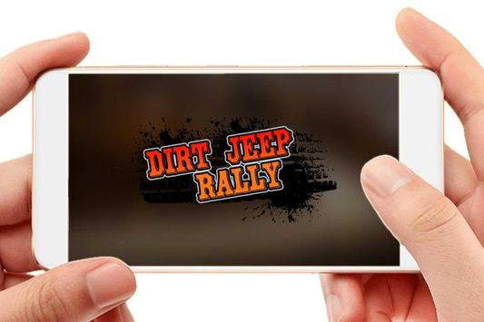 Dirt Jeep Rally poster
