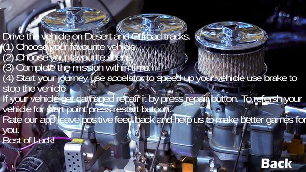 Rally Desert Racing screenshot 13