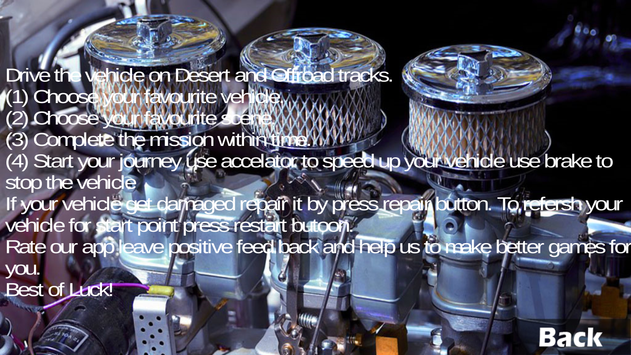 Rally Desert Racing screenshot 20