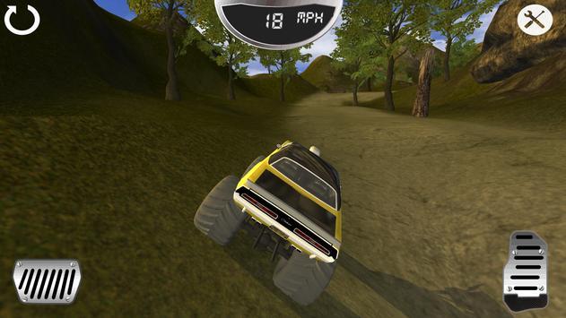 Monster Stunt Jeep apk screenshot