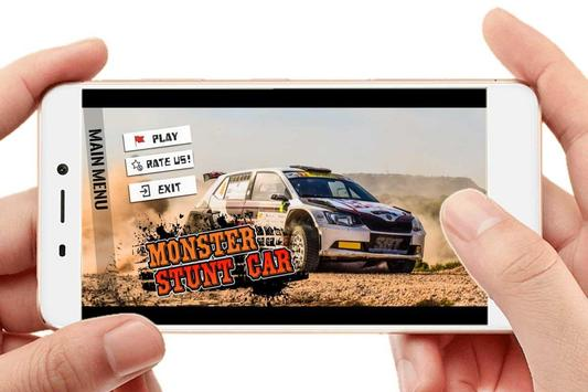 Monster Stunt Car screenshot 1