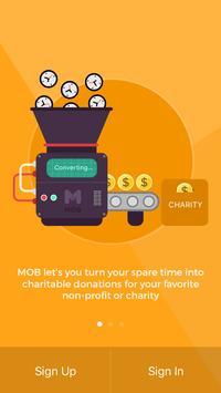 MOB - Nonprofit Fundraising poster